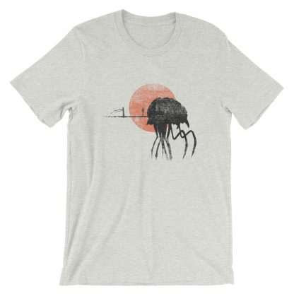 Silt strider shirt grey